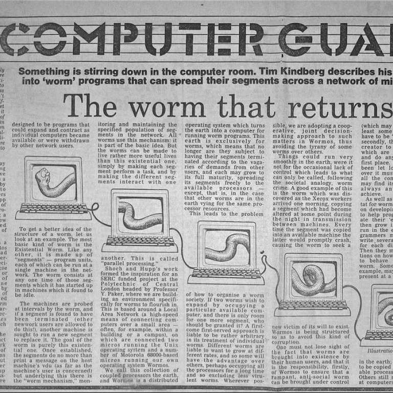 The Worm That Returns